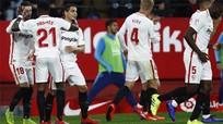 Barca thua Sevilla ở Cup Nhà vua