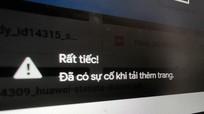Gmail, Google Drive gặp lỗi không thể tải sáng nay