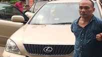 Tổng giám đốc lái xe Lexus đi trộm cắp