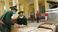 Nghệ An bắt giữ kẻ tuồn 64 ngàn khẩu trang y tế ra nước ngoài