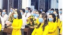 Giáo phận Vinh yêu cầu người dự thánh lễ phải đeo khẩu trang, rửa tay sát khuẩn