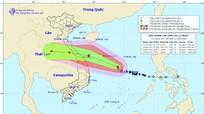 Bão số 5 giật cấp 13, hướng thẳng miền Trung, Nghệ An có mưa