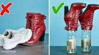 Mẹo giữ gìn để giày dép lúc nào cũng như mới