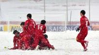 Nhìn lại trận khổ chiến dưới mưa tuyết của các chiến binh U23 Việt Nam