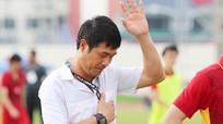Các cầu thủ U23 Việt Nam cảm ơn Hữu Thắng