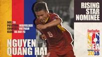 """Báo châu Á đề cử Quang Hải ở hạng mục """"Cầu thủ trẻ hay nhất Đông Nam Á"""""""