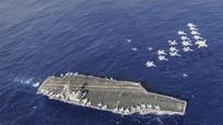 """Phi đội máy bay đặc biệt trên """"pháo đài nổi"""" USS Carl Vinson"""