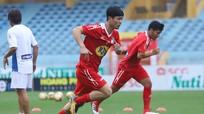 Xuân Trường, Công Phượng tập kín trước trận quyết đấu với CLB Hà Nội