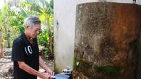 Nghệ An tiếp nhận dự án nước sạch và vệ sinh