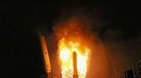 Mục kích tàu chiến Mỹ nã tên lửa Tomahawk vào Syria