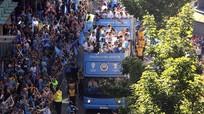 100.000 CĐV Man City đổ xuống đường mừng chức vô địch