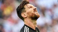 Messi nhận lỗi khi Argentina bị cầm hòa