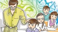 """Tâm sự của giáo viên về nghề """"dỗ đầu trẻ"""""""