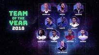 Đội hình tiêu biểu Châu Âu 2018: Vắng mặt Salah