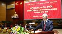 Tổng Bí thư, Chủ tịch nước Nguyễn Phú Trọng: Không có vùng cấm trong phòng, chống tham nhũng