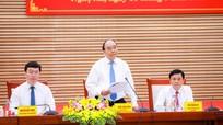 Thủ tướng Chính phủ Nguyễn Xuân Phúc làm việc với lãnh đạo tỉnh Nghệ An