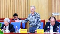 Lãnh đạo tỉnh Nghệ An làm việc với Tổ Tư vấn phát triển kinh tế - xã hội