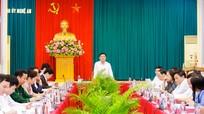 Ban Thường vụ Tỉnh ủy Nghệ An họp thường kỳ tháng 3, cho ý kiến nhiều nội dung quan trọng