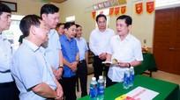 Bí thư Tỉnh ủy Thái Thanh Quý kiểm tra công tác chuẩn bị bầu cử tại huyện Tân Kỳ và Diễn Châu