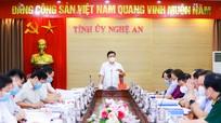 Video: Ban Thường vụ Tỉnh ủy Nghệ An họp phiên thường kỳ tháng 4/2021