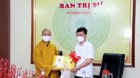 Video: Chủ tịch UBND tỉnh chúc mừng Ban trị sự Giáo hội Phật giáo Nghệ An nhân Đại lễ Phật đản