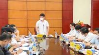 Video: Chủ tịch UBND tỉnh Nguyễn Đức Trung làm việc với Sở xây dựng