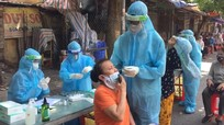 Tiểu thương bán cá nhiễm Covid-19, phong tỏa chợ Hưng Dũng (TP Vinh)