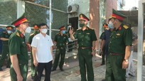 Kiểm tra công tác chuẩn bị Bệnh viện dã chiến tại thị xã Cửa Lò