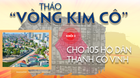 Tháo 'vòng kim cô' cho 105 hộ dân Thành cổ Vinh