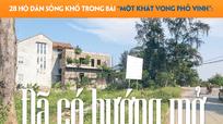 Đã có hướng mở cho 28 hộ dân thành phố Vinh 'mắc kẹt' ở dự án đường Lê Mao kéo dài