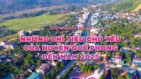 [Infographics] - Những chỉ tiêu chủ yếu của huyện Quế Phong đến năm 2025