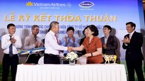 Vietnam Airlines và Vinamilk ký kết hợp tác chiến lược