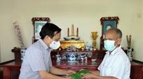 Hội Nông dân Nghệ An thăm hỏi, hỗ trợ gia đình cán bộ Hội mắc bệnh hiểm nghèo