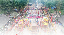 Lễ hội Đền Quả Sơn được công nhận Di sản văn hóa phi vật thể Quốc gia