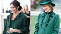 Công nương Meghan Markle chi hơn 14 tỷ mua đồ bầu, sao chép thời trang của Diana