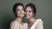 Cặp song sinh Thúy Hằng - Thúy Hạnh rạng rỡ đón tuổi 40