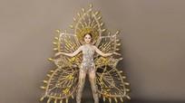 Hương Giang Idol hé lộ bộ trang phục dân tộc nặng 55kg ở Hoa hậu chuyển giới