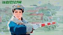 Tranh cổ động tiết lộ cuộc sống người dân Triều Tiên