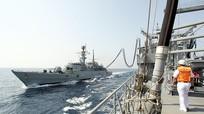 Nhật Bản tiếp liệu tàu hải quân Mỹ giám sát Triều Tiên