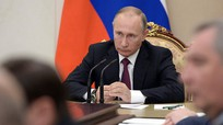 Ông Putin sa thải 11 tướng  sau tái đắc cử