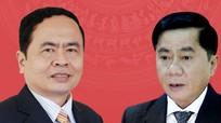 Chân dung 2 tân Bí thư Trung ương Đảng Trần Thanh Mẫn và Trần Cẩm Tú