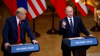 """Putin: Giới cầm quyền Mỹ đứng sau đòn trừng phạt """"vô nghĩa"""" đánh vào Nga"""