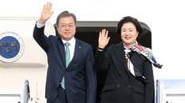 Tổng thống Hàn tới Mỹ họp thượng đỉnh với Trump về Triều Tiên