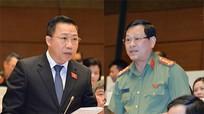 Đại biểu Nguyễn Hữu Cầu tranh luận với đại biểu Lưu Bình Nhưỡng về 'cán bộ xa hoa'