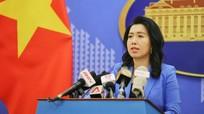 Yêu cầu Trung Quốc rút toàn bộ nhóm tàu Hải Dương 08 khỏi vùng biển Việt Nam