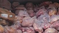 Kinh hoàng 40 tấn thịt lợn nhiễm dịch tả châu Phi trong cơ sở làm giò chả