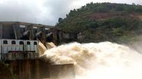 Thủy điện Khe Bố xả lũ sau bão số 4