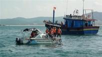 7 ngư dân Nghệ An trên tàu cá bị cháy được cứu kịp thời tại Quảng Trị