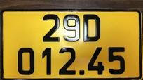 Từ hôm nay 1/8, xe kinh doanh vận tải phải đổi biển màu vàng
