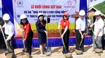 Hỗ trợ xây dựng  6 ngôi nhà an toàn cho người dân vùng lũ ở Tương Dương